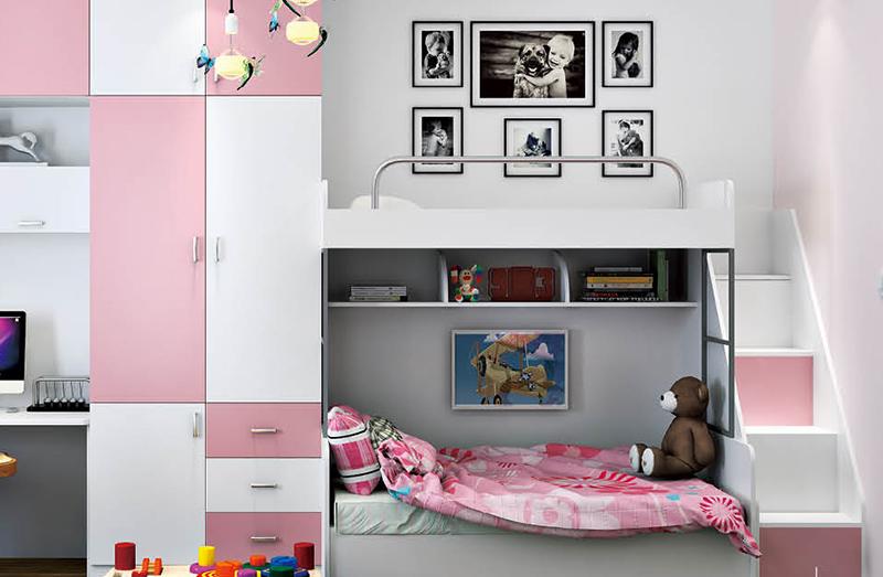 儿童房板材案例